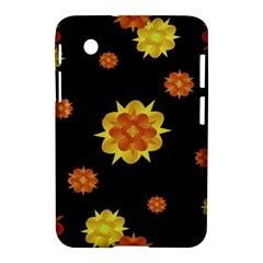 Floral Print Modern Style Pattern  Samsung Galaxy Tab 2 (7 ) P3100 Hardshell Case