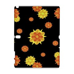 Floral Print Modern Style Pattern  Samsung Galaxy Note 10.1 (P600) Hardshell Case