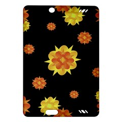Floral Print Modern Style Pattern  Kindle Fire HD (2013) Hardshell Case