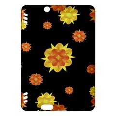Floral Print Modern Style Pattern  Kindle Fire HDX Hardshell Case