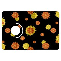 Floral Print Modern Style Pattern  Kindle Fire HDX Flip 360 Case