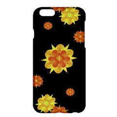 Floral Print Modern Style Pattern  Apple Iphone 6 Plus Hardshell Case