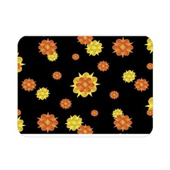 Floral Print Modern Style Pattern  Double Sided Flano Blanket (mini)