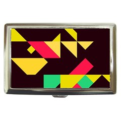 Shapes In Retro Colors 2 Cigarette Money Case