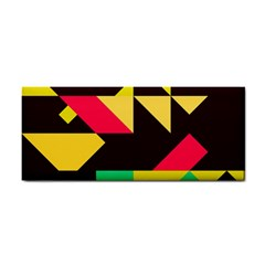 Shapes In Retro Colors 2 Hand Towel