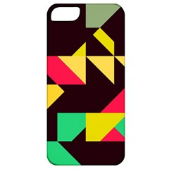 Shapes In Retro Colors 2 Apple Iphone 5 Classic Hardshell Case