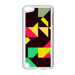Shapes In Retro Colors 2 Apple Ipod Touch 5 Case (white)