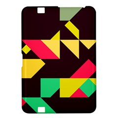 Shapes In Retro Colors 2 Kindle Fire Hd 8 9  Hardshell Case