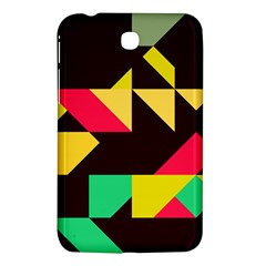Shapes In Retro Colors 2 Samsung Galaxy Tab 3 (7 ) P3200 Hardshell Case