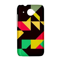 Shapes in retro colors 2 HTC Desire 601 Hardshell Case
