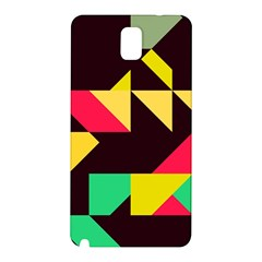 Shapes in retro colors 2 Samsung Galaxy Note 3 N9005 Hardshell Back Case