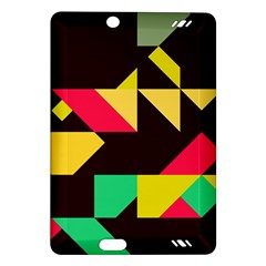 Shapes in retro colors 2 Kindle Fire HD (2013) Hardshell Case
