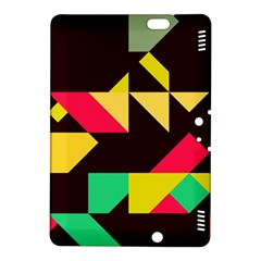Shapes in retro colors 2 Kindle Fire HDX 8.9  Hardshell Case