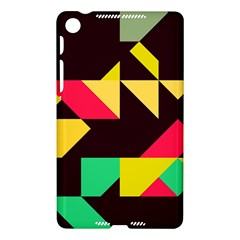 Shapes in retro colors 2 Google Nexus 7 (2013) Hardshell Case
