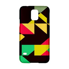 Shapes in retro colors 2 Samsung Galaxy S5 Hardshell Case
