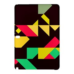 Shapes in retro colors 2 Samsung Galaxy Tab Pro 10.1 Hardshell Case