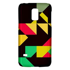 Shapes in retro colors 2 Samsung Galaxy S5 Mini Hardshell Case