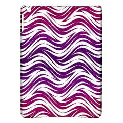 Purple Waves Pattern Apple Ipad Air Hardshell Case