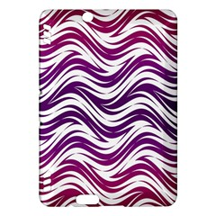 Purple waves pattern Kindle Fire HDX Hardshell Case