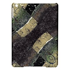 Geometric Abstract Grunge Prints in Cold Tones Apple iPad Air Hardshell Case