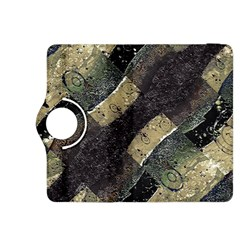Geometric Abstract Grunge Prints in Cold Tones Kindle Fire HDX 8.9  Flip 360 Case