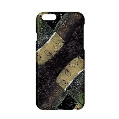 Geometric Abstract Grunge Prints In Cold Tones Apple Iphone 6 Hardshell Case