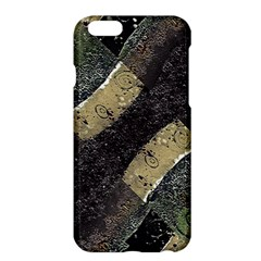 Geometric Abstract Grunge Prints in Cold Tones Apple iPhone 6 Plus Hardshell Case