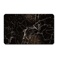 Spider Web Print Grunge Dark Texture Magnet (rectangular)