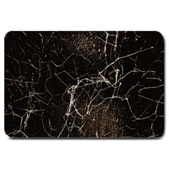 Spider Web Print Grunge Dark Texture Large Door Mat