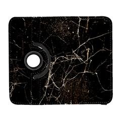 Spider Web Print Grunge Dark Texture Samsung Galaxy S  III Flip 360 Case