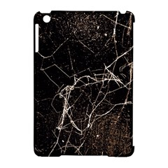 Spider Web Print Grunge Dark Texture Apple Ipad Mini Hardshell Case (compatible With Smart Cover)