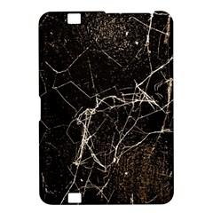 Spider Web Print Grunge Dark Texture Kindle Fire Hd 8 9  Hardshell Case