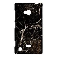 Spider Web Print Grunge Dark Texture Nokia Lumia 720 Hardshell Case