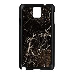 Spider Web Print Grunge Dark Texture Samsung Galaxy Note 3 N9005 Case (Black)