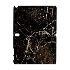 Spider Web Print Grunge Dark Texture Samsung Galaxy Note 10.1 (P600) Hardshell Case