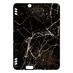 Spider Web Print Grunge Dark Texture Kindle Fire HDX Hardshell Case