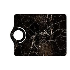 Spider Web Print Grunge Dark Texture Kindle Fire Hd (2013) Flip 360 Case