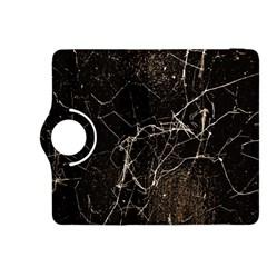 Spider Web Print Grunge Dark Texture Kindle Fire HDX 8.9  Flip 360 Case