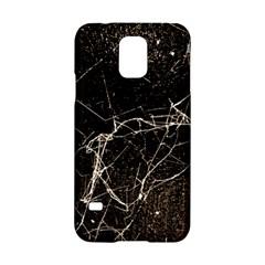 Spider Web Print Grunge Dark Texture Samsung Galaxy S5 Hardshell Case