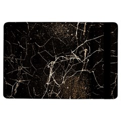 Spider Web Print Grunge Dark Texture Apple iPad Air Flip Case