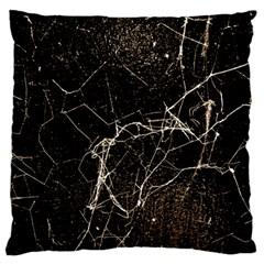 Spider Web Print Grunge Dark Texture Standard Flano Cushion Case (One Side)