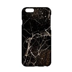 Spider Web Print Grunge Dark Texture Apple iPhone 6 Hardshell Case