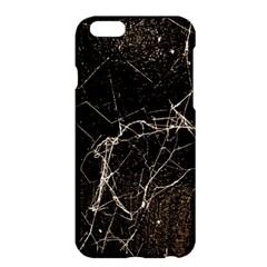 Spider Web Print Grunge Dark Texture Apple Iphone 6 Plus Hardshell Case