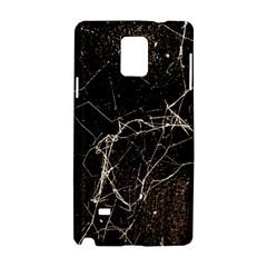 Spider Web Print Grunge Dark Texture Samsung Galaxy Note 4 Hardshell Case