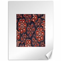 Modern Floral Decorative Pattern Print Canvas 36  X 48  (unframed)