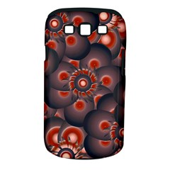 Modern Floral Decorative Pattern Print Samsung Galaxy S Iii Classic Hardshell Case (pc+silicone)
