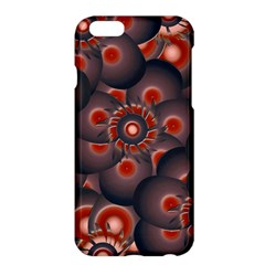 Modern Floral Decorative Pattern Print Apple iPhone 6 Plus Hardshell Case