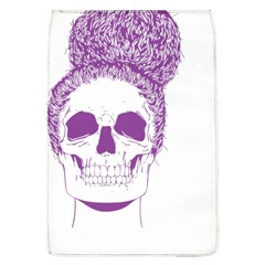 Purple Skull Bun Up Removable Flap Cover (large)