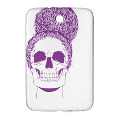 Purple Skull Bun Up Samsung Galaxy Note 8 0 N5100 Hardshell Case