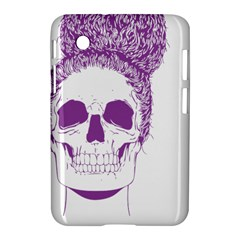 Purple Skull Bun Up Samsung Galaxy Tab 2 (7 ) P3100 Hardshell Case